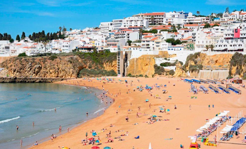 Algarve Dorp Strand