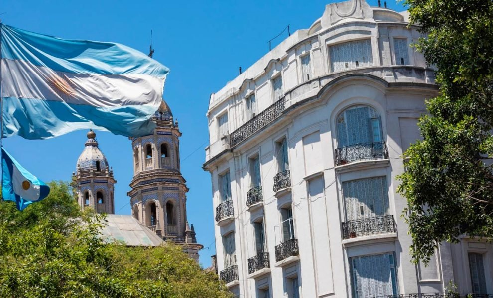 Argentinie Apartementencomplex