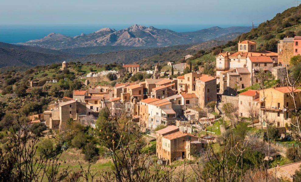 Corsica Berg Dorp