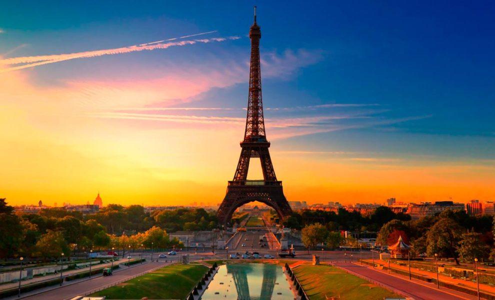Europa Parijs Eiffeltoren