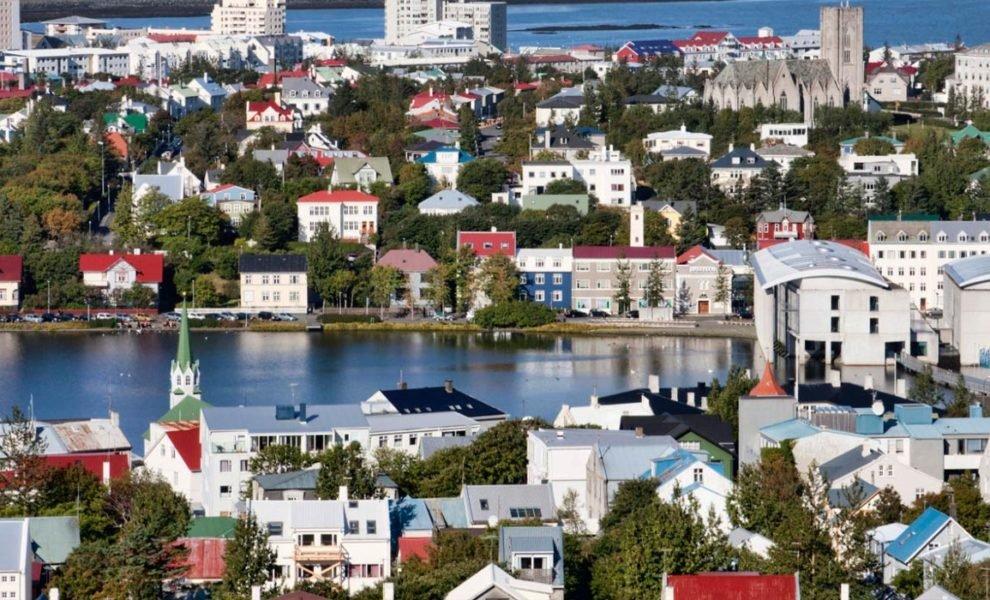 IJsland Stad Reykjavik