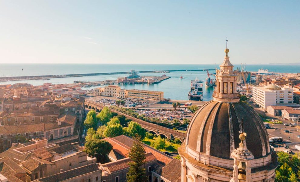 Sicilie Stad