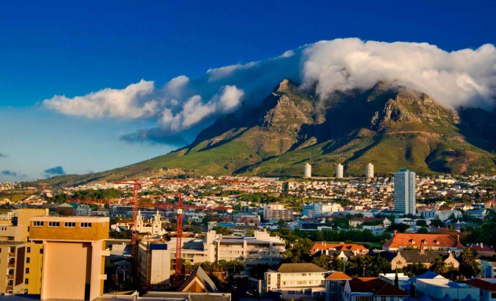 Zuid-Afrika Kaapstad Hoofdstad