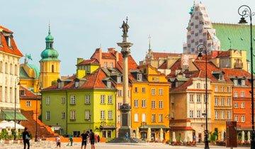 Plein in Warschau